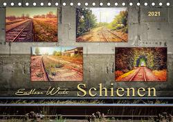 Endlose Weite – Schienen (Tischkalender 2021 DIN A5 quer) von Roder,  Peter