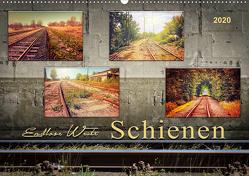 Endlose Weite – Schienen (Wandkalender 2020 DIN A2 quer) von Roder,  Peter