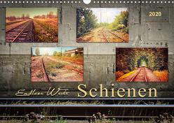 Endlose Weite – Schienen (Wandkalender 2020 DIN A3 quer) von Roder,  Peter