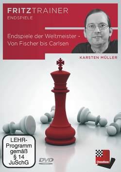 Endspiele der Weltmeister – Von Fischer bis Carlsen von Müller,  Karsten