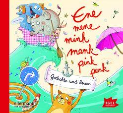 Ene mene mink mank pink pank von Erhardt,  Heinz, Guggenmoos,  Josef, Kaestner,  Erich, Maar,  Paul, Ringelnatz,  Joachim