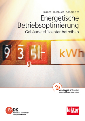 Energetische Betriebsoptimierung von Balmer,  Matthias, Hubbuch,  Markus, Sandmeier,  Ernst