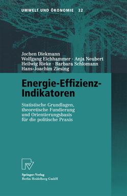 Energie-Effizienz-Indikatoren von Diekmann,  Jochen, Eichhammer,  Wolfgang, Neubert,  Anja, Rieke,  Heilwig, Schlomann,  Barbara, Ziesing,  Hans-Joachim