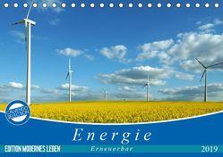 Energie – erneuerbar – Biomasse (Tischkalender 2019 DIN A5 quer) von Flori0