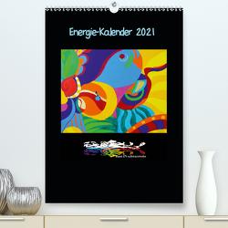 Energie-Kalender 2021 (Premium, hochwertiger DIN A2 Wandkalender 2021, Kunstdruck in Hochglanz) von Harlos,  Sebian