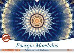 Energie-Mandalas in blau (Wandkalender 2019 DIN A3 quer) von Bässler,  Christine