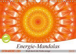 Energie – Mandalas in orange (Wandkalender 2019 DIN A4 quer) von Bässler,  Christine