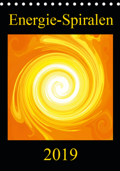 Energie-Spiralen 2019 (Tischkalender 2019 DIN A5 hoch) von Labusch,  Ramon