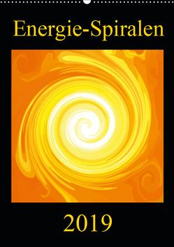 Energie-Spiralen 2019 (Wandkalender 2019 DIN A2 hoch) von Labusch,  Ramon