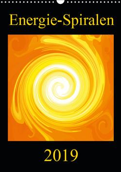 Energie-Spiralen 2019 (Wandkalender 2019 DIN A3 hoch) von Labusch,  Ramon