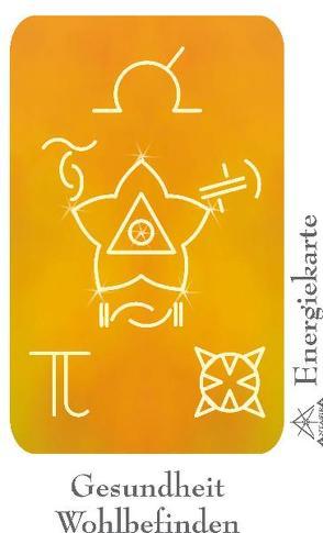 """Energie – Symbolkarte """"Gesundheit & Wohlbefinden"""" von Becvar,  Wolfgang, Neuner,  Werner J"""