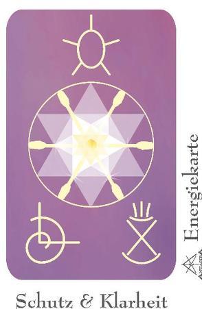 """Energie – Symbolkarte """"Schutz & Klarheit"""" von Becvar,  Wolfgang, Neuner,  Werner J"""