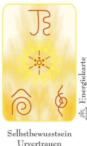 """Energie – Symbolkarte """"Selbstbewusstsein & Urvertrauen"""" von Becvar,  Wolfgang, Neuner,  Werner J"""