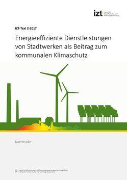 Energieeffiziente Dienstleistungen von Stadtwerken als Beitrag zum kommunalen Klimaschutz von Degel,  Melanie, Hackfort,  Sarah