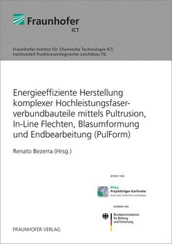 Energieeffiziente Herstellung komplexer Hochleistungsfaserverbundbauteile mittels Pultrusion, In-Line Flechten, Blasumformung und Endbearbeitung (PulForm). von Bezerra,  Renato