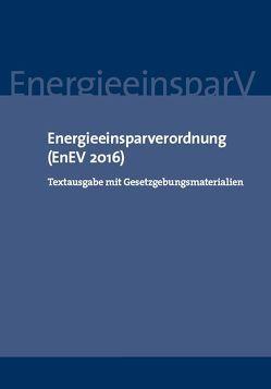 Energieeinsparverordnung (EnEV 2016)