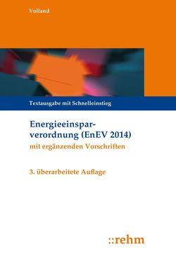 Energieeinsparverordnung (EnEV) von Volland,  Johannes