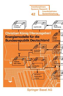 Energiemodelle für die Bundesrepublik Deutschland von Koenig,  ...