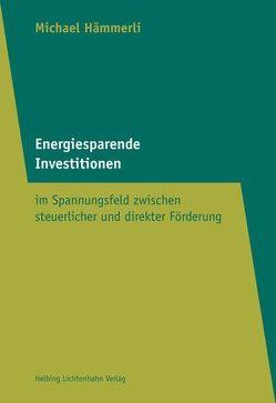 Energiesparende Investionen von Hämmerli,  Michael