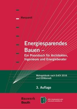 Energiesparendes Bauen von Marquardt,  Helmut