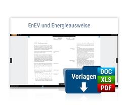 EnEV und Energieausweise von Jung,  Ulrich