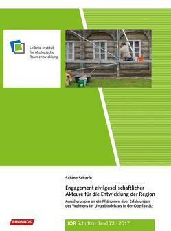 Engagement zivilgesellschaftlicher Akteure für die Entwicklung der Region von Scharfe,  Sabine