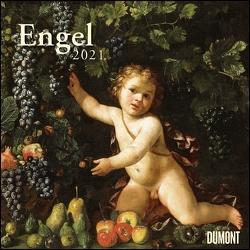 Engel 2021 – Broschürenkalender – Wandkalender – Format 30 x 30 cm