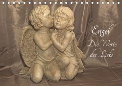 Engel – Die Worte der Liebe (Tischkalender 2019 DIN A5 quer) von Potratz,  Andrea