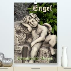 Engel – Himmlische Wesen (Premium, hochwertiger DIN A2 Wandkalender 2020, Kunstdruck in Hochglanz) von Lindert-Rottke,  Antje