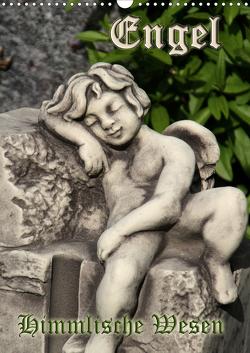 Engel – Himmlische Wesen (Wandkalender 2021 DIN A3 hoch) von Lindert-Rottke,  Antje