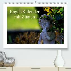 Engel-Kalender mit Zitaten / CH-Version (Premium, hochwertiger DIN A2 Wandkalender 2021, Kunstdruck in Hochglanz) von Riedel,  Tanja