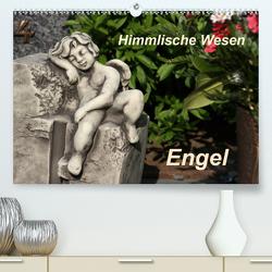 Engel (Premium, hochwertiger DIN A2 Wandkalender 2021, Kunstdruck in Hochglanz) von Lindert-Rottke,  Antje