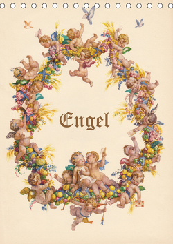 Engel (Tischkalender 2021 DIN A5 hoch) von - Martina Berg + Antje Lindert-Rottke,  KramBam.de