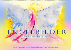 Engelbilder mit Botschaften für die Seele (Wandkalender 2020 DIN A2 quer) von Bode,  Gabriele-Diana