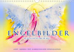 Engelbilder mit Botschaften für die Seele (Wandkalender 2020 DIN A4 quer) von Bode,  Gabriele-Diana