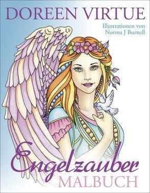 Engelzauber Malbuch von Virtue,  Doreen