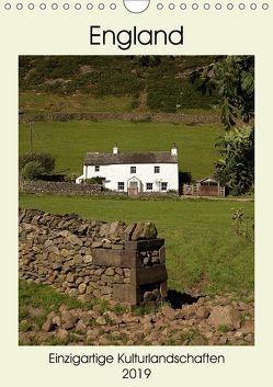 England – Einzigartige Kulturlandschaften (Wandkalender 2019 DIN A4 hoch) von Hallweger,  Christian