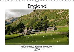 England – Faszinierende Kulturlandschaften (Wandkalender 2019 DIN A3 quer) von Hallweger,  Christian