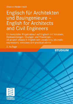 Englisch für Architekten und Bauingenieure – English for Architects and Civil Engineers von Heidenreich,  Sharon