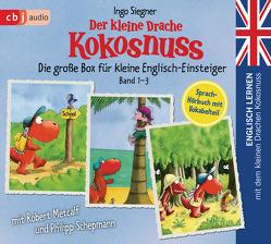 Englisch lernen mit dem kleinen Drachen Kokosnuss – Die große Box für kleine Englisch-Einsteiger (Band 1-3) von Metcalf,  Robert, Schepmann,  Philipp, Siegner,  Ingo