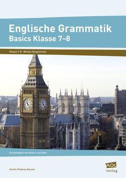 Englische Grammatik – Basics Klasse 7-8 von Ruberg-Neuser,  Anette