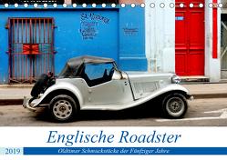 Englische Roadster – Oldtimer Schmuckstücke der Fünfziger Jahre (Tischkalender 2019 DIN A5 quer) von von Loewis of Menar,  Henning