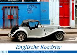 Englische Roadster – Oldtimer Schmuckstücke der Fünfziger Jahre (Wandkalender 2019 DIN A3 quer) von von Loewis of Menar,  Henning