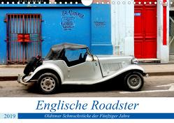 Englische Roadster – Oldtimer Schmuckstücke der Fünfziger Jahre (Wandkalender 2019 DIN A4 quer) von von Loewis of Menar,  Henning