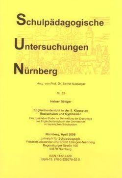 Englischunterricht in der 5. Klasse an Realschulen und Gymnasien. von Böttger,  Heiner, Nussinger,  Bernd