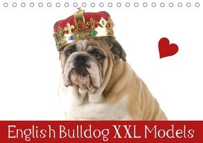 English Bulldog XXL Models (Tischkalender 2018 DIN A5 quer) von Stanzer,  Elisabeth