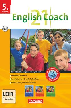English G 21 – English Coach 21 (zu allen Ausgaben) – Lernsoftware für zu Hause – Band 1: 5. Schuljahr von Pankhurst,  James, RITTER ,  MARKUS, Thiele,  Angelika