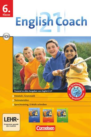 English G 21 – English Coach 21 (zu allen Ausgaben) – Lernsoftware für zu Hause – Band 2: 6. Schuljahr von Mause,  Doris, Pankhurst,  James, RITTER ,  MARKUS, Thiele,  Angelika