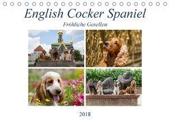 English Cocker Spaniel – Fröhliche Gesellen (Tischkalender 2018 DIN A5 quer) von Verena Scholze,  Fotodesign