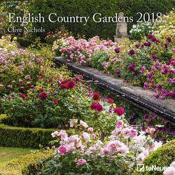 English Country Gardens 2018 von Nichols,  Clive